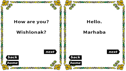 Modern Arabic Travel Phrases