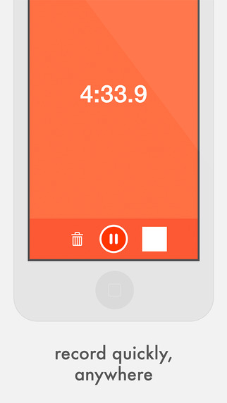 Quick Record — Voice memos with iCloud sync