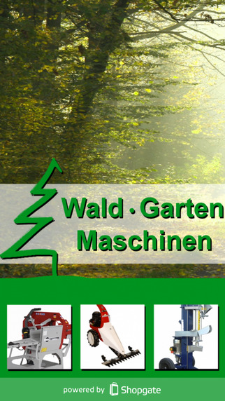 Wald Garten Maschinen