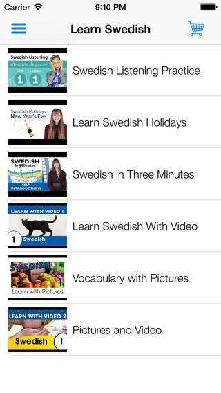 Learn Swedish - Learn with Video