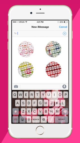 Love Board - Custom Keyboard Featuring Cutes Themes Designs Backgrounds For Girls
