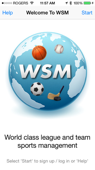 Web Sports Manager
