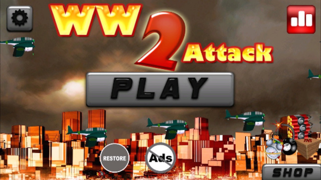 WW2 Attack - War Bomber