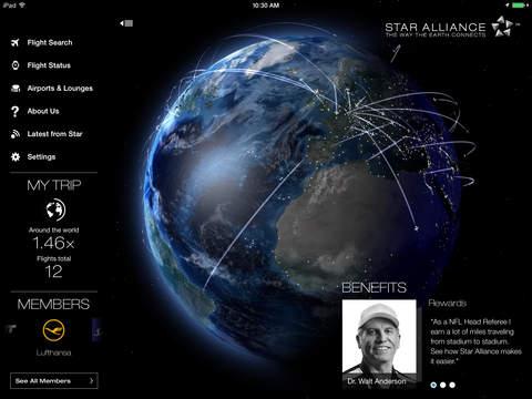 Star Alliance Navigator for iPad