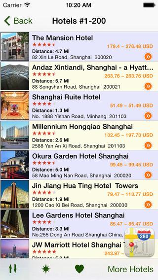 【免費旅遊App】Shanghai Hotels-APP點子