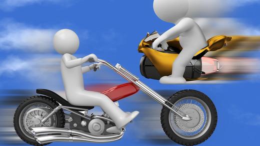 A1 Motorcylce Race Track Jumper