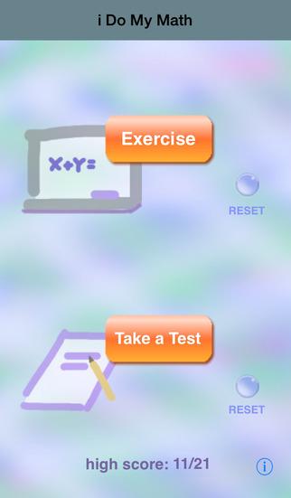 i Do My Math iPhone Screenshot 1