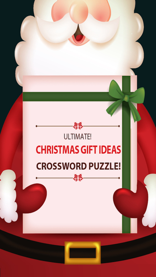 Christmas Crossword Trivia Puzzle Challenge