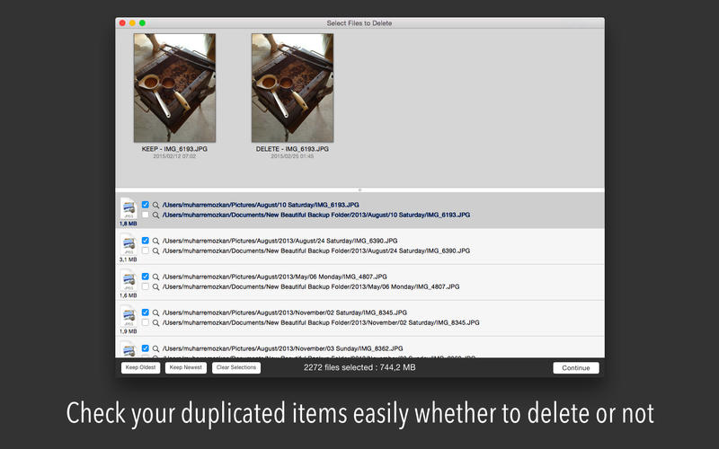 Delete Duplicates Fast Screenshot - 3
