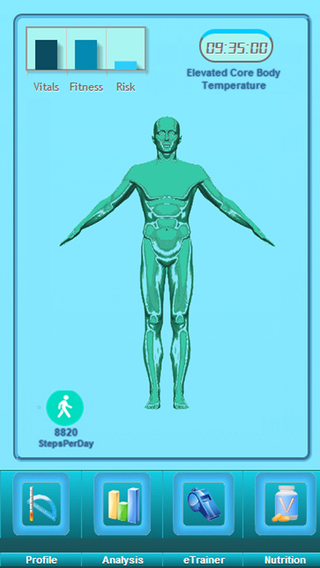 BioStatus Fitness Tracker