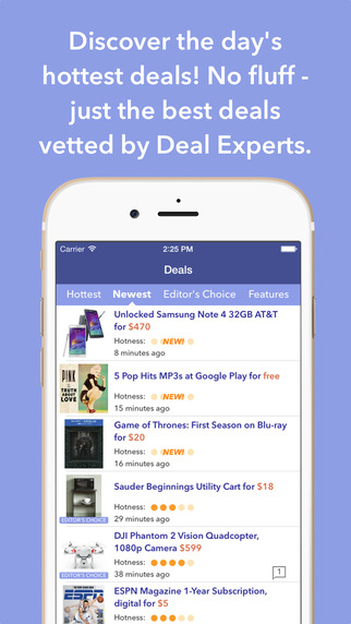 DealNews - Today's Best Deals Discounts Sales and Coupons