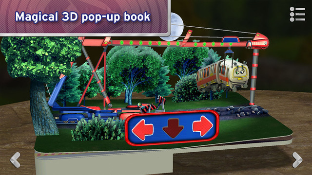 Chug Patrol: Ready to Rescue ~ Chuggington Interactive Pop-up Book Screenshots