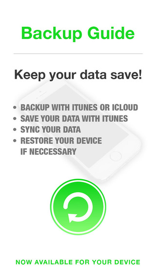 Backup Assistant for iPhone iTunes - Sync and Restore your files