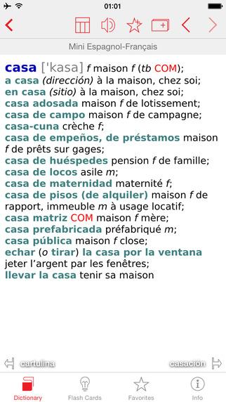 Spanish - French Berlitz Mini Talking Dictionary