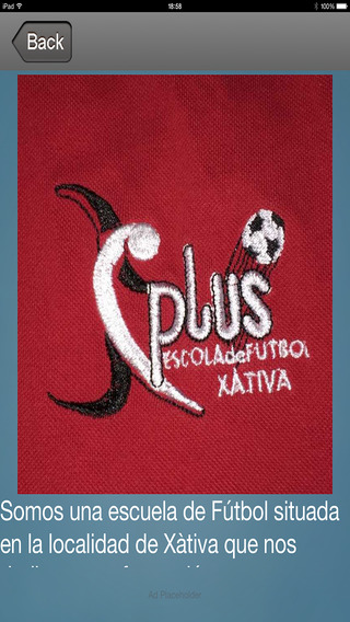 PLUSXATIVAIOS - Escuela Futbol Plus Xativa