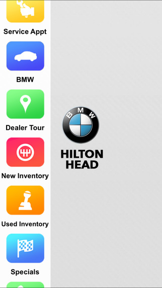 Hilton Head BMW Dealer App