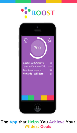 Boost - Motivation to Achieve Your Health Fitness Lifestyle Goals by Completing Tasks and Unlocking