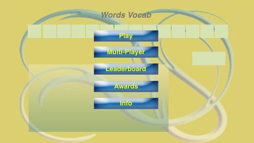 Words Vocab
