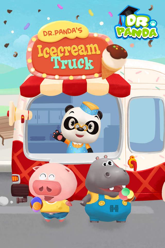 小动物们最爱吃冰淇淋了
