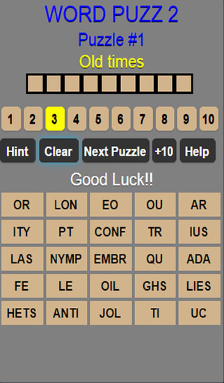 Word Puzz 100