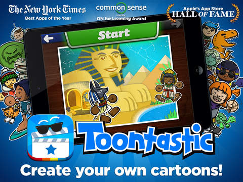 Toontastic Screenshot