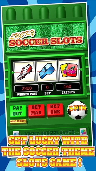 Lucky Soccer Slots - Free Fortune Slot Machine Mania