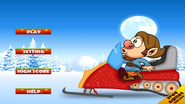 Seven Dwarfs Snowmobile Racing: Winter Mayhem Outside the Mine FREE