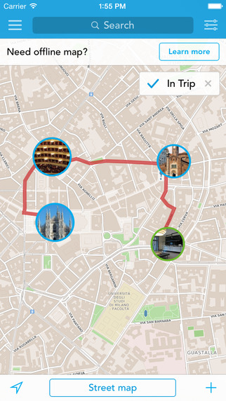 Milan Expo 2015 Trip Planner Travel Guide Offline City Map