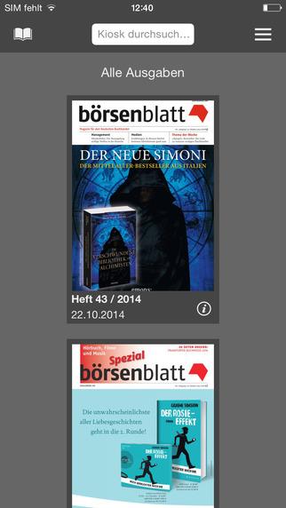 Börsenblatt – Wochenmagazin für den Deutschen Buchhandel