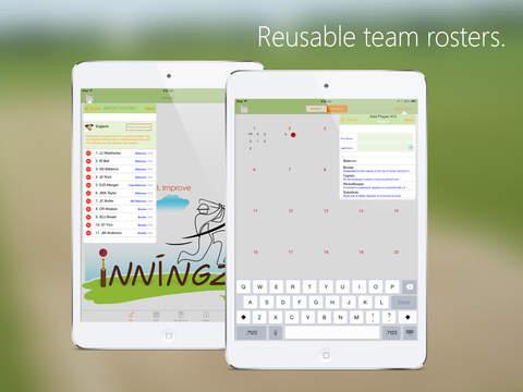 inningZ Cricket Scorer iPad Screenshot 3