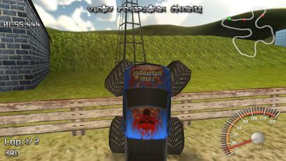 Screenshots of Monster Truck Lite for iPhone