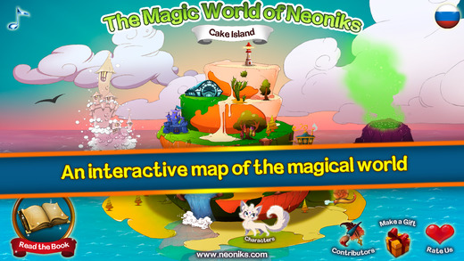 Magical World of Neoniks - Middle grade magic fantasy tale reading and enchanted interactive encyclo
