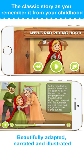 Little Red Riding Hood - narrated classic story
