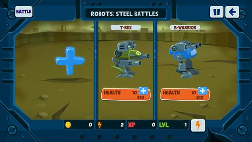Robots - Steel Battles