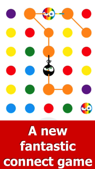 Angry Dots - Free Puzzle Game: Think Match Connect