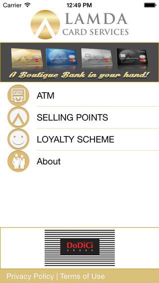 Lamda Card Services