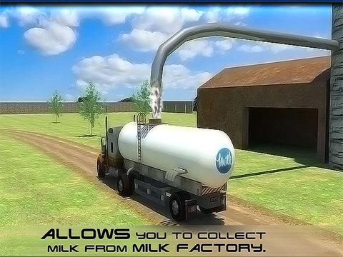 玩免費遊戲APP|下載Transport Truck: Milk Supply app不用錢|硬是要APP
