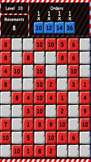 Puzzle Blocks Numbers
