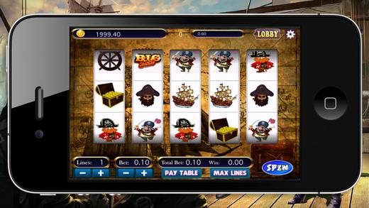 Mega Pirates Slots Machine