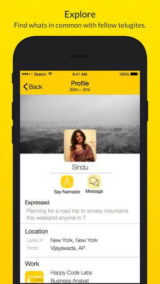 Manam App : Express Connect and Chat