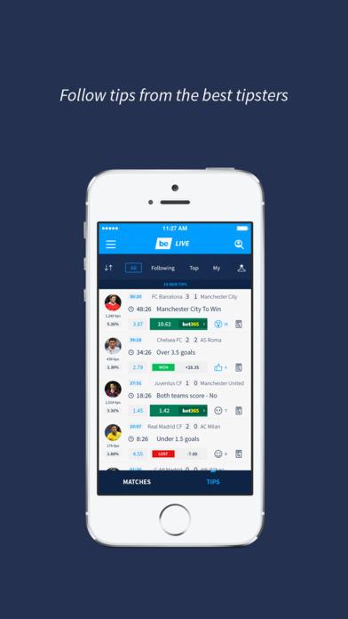 bettingexpert LIVE - in-play betting tips screenshot