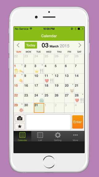 2 Seconds Diary - Ultimate Diary App