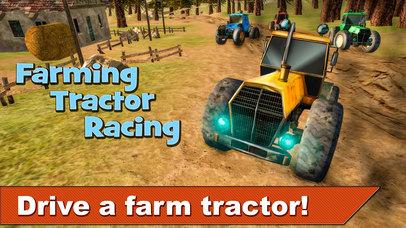 Farming Tractor Racing 3D Full screenshot 1