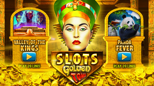 Slots Golden Tomb PRO - A Pharaoh's Gold Slot Machine Game