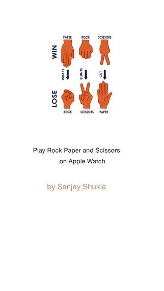 Rock Paper Scissors_On Apple Watch