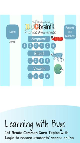 Phonics Awareness 1st Grade