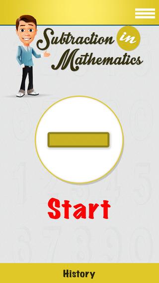 Math Subtraction Operator App