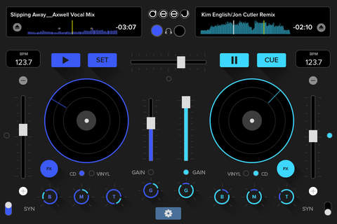 deej - DJ turntable. Mix, record, share your music screenshot 1