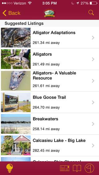 Creole Nature Trail iPhone Screenshot 3