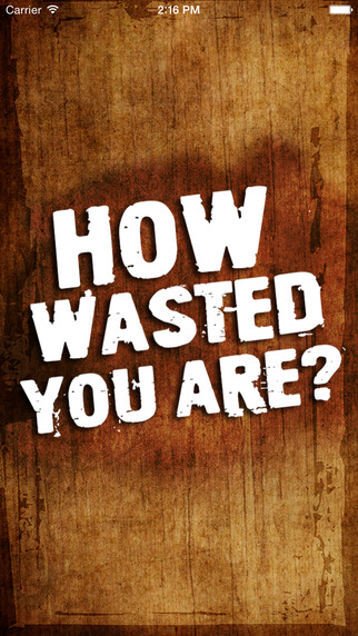 How Wasted You Are